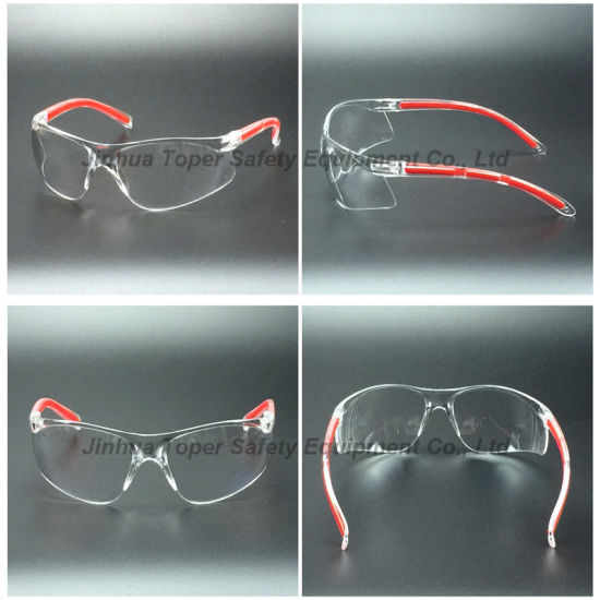 High Quality PC Lens Safety Spectacles with Soft Pad (SG123) pictures & photos