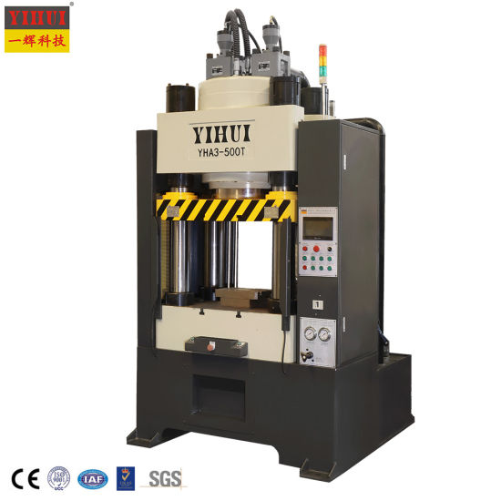 European Standard Servo Four Column Gear Cold Forging Hydraulic Press