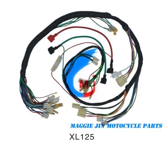 Terrific China Motorcycle Parts Motorcycle Wire Harness For Xl125 China Wiring Cloud Aboleophagdienstapotheekhoekschewaardnl