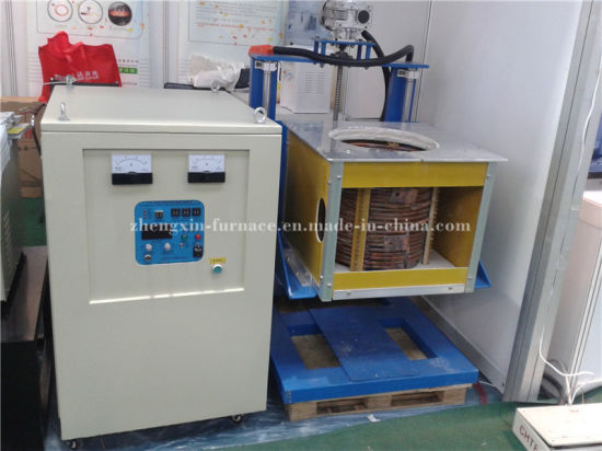 Induction Smelting Furnace for Silver (GW-100KG) pictures & photos