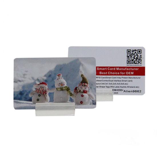 Long Reading Distance Vehicle Management Blank Printable UHF RFID Card