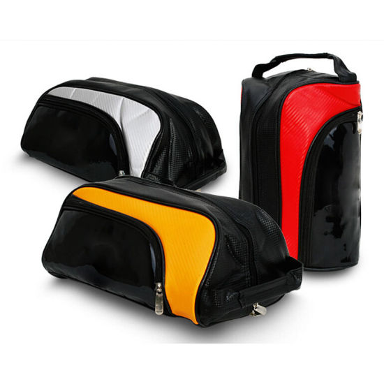 Outdoor PU Unisex Package Golf Shoes Bags pictures & photos