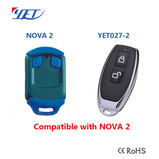China Replacement Remote For Nova Remote Nova Garage Door Remote