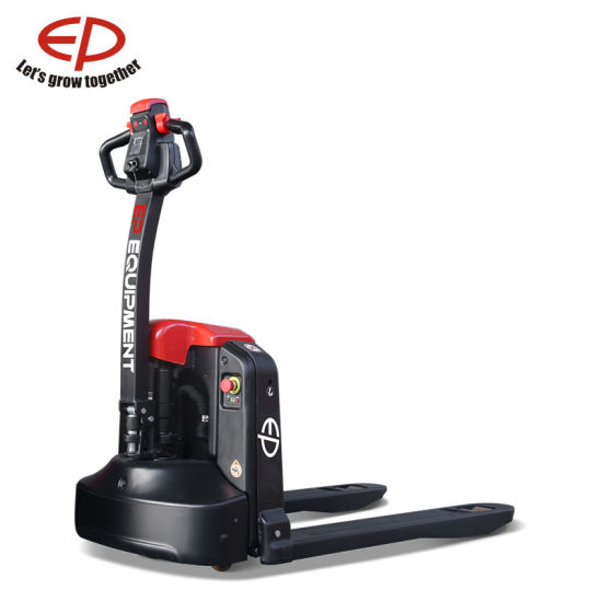 China Factory 1.5 Ton Li-ion Electric Pallet Truck with Plug & Play Battery