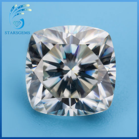 6X6mm 1.0 Carat Brilliant Cushion Cut Loose Moissanite Diamond for Sale pictures & photos
