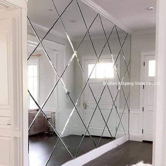 Beveled Decoration Mirror Wall Decorative Glass Mirror Designed Mirror China Glass Building Glass Made In China Com