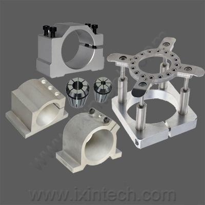 Spindle Motor Aluminum Clamp Mount, Engraving Machine Parts