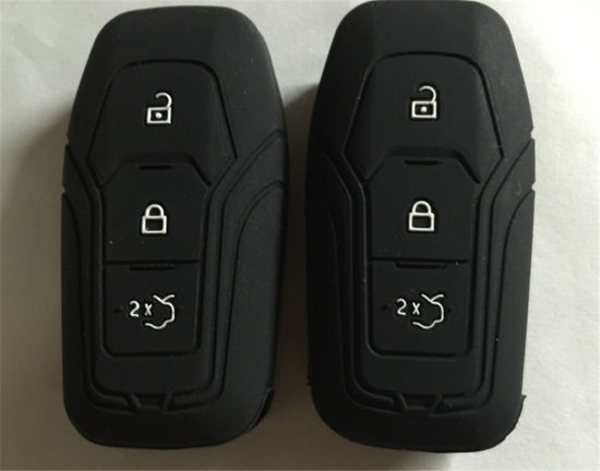 Sy06-01-009 Customize Logo Silicone Car Key Cover for Mondeo