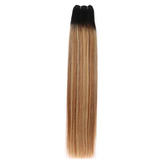 Wholesale Cheap European 100% Virgin Human Hair Extensions in Remy Cuticle Human Hair Weft