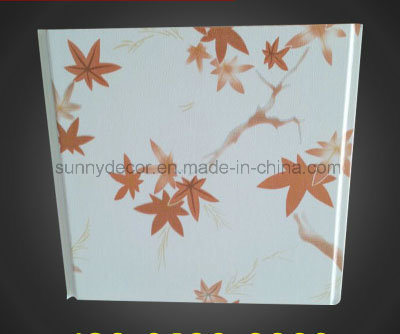 PVC Panel Ceiling Panel Decoration Wall Panel (normal printing, hot stamping, lamination)