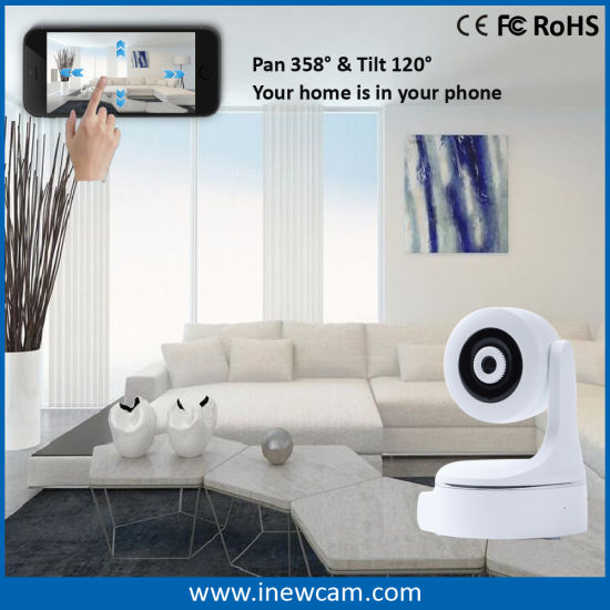 Intelligent Home Security WiFi Camera with Auto Tracking pictures & photos