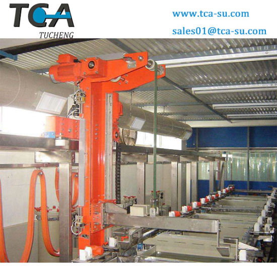 Cheap Price Single Arm Electroplating Line for Gold Plating