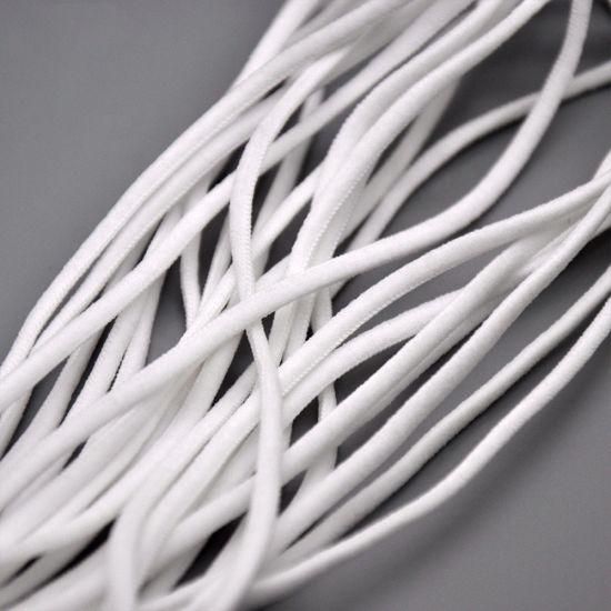 China Elastic 3mm Face Mask Ropes Ear String Mask Cord Rope