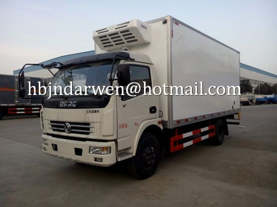 115802ff4b China Dongfeng Load 6-8ton Brand New Refrigerated Van Truck for Sale ...
