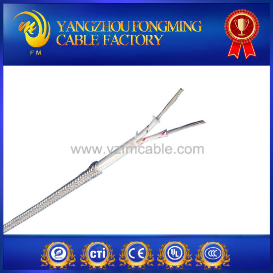 Jx Type Fiberglass Insulated High Temperature Thermo Wire pictures & photos