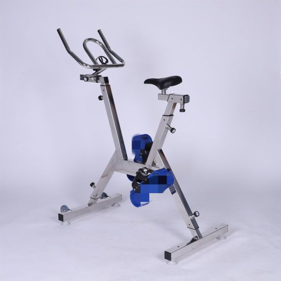 Commercial Use Stainless Steel SUS316L Stationary Hydro Pool Rider Bike