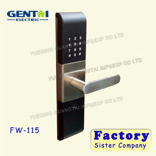 china fire rated digital keypad intelligent household door lock  fire rated digital keypad intelligent household door lock