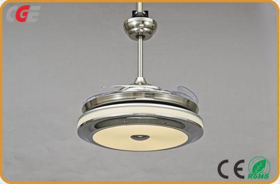 Indoor Modern Dc Remote Control Ceiling Fan Light Led Lights Usb Summer Use Household