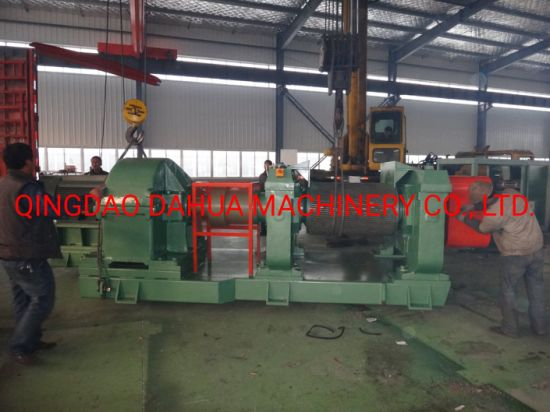 Waste Tire Recycling Line / Rubber Powder Making Machine Tyre