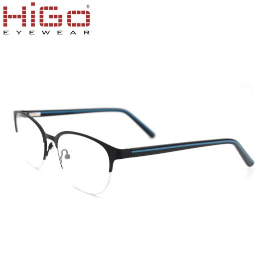 Stainless Material New Model Metal Optical Glasses Small Eyewear in 49mm