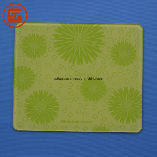 OEM Bathroom Electronic Body Fat Weighing Scale Silk Printing Tempered Glass Panel