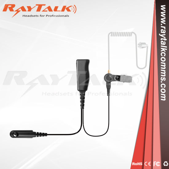 Walkie Talkie Surveillance Earpiece for Motorola Gp328