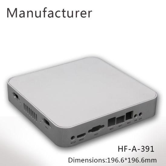 Custom Aluminum Extrusion Enclosure for Mini Computer Controller