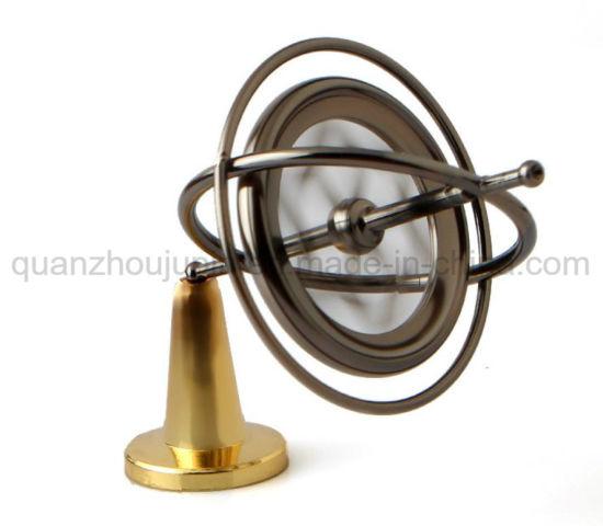 OEM Zinc Alloy Decorative Desktop Gyroscope Toy