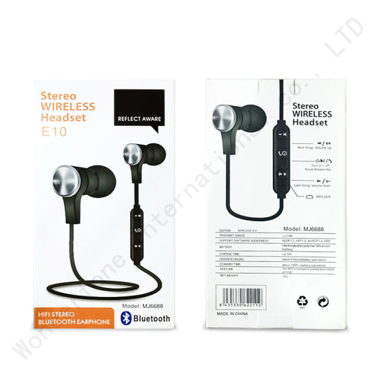 6f8d27e069e High Quality Wireless Bluetooth Jbl Sports Headphones Stereo Earbud  pictures & photos