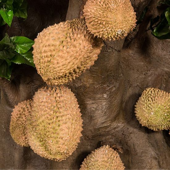 Artificial Durian Tree Fake Fresh Fruit Big Tree for Hotal Decoration