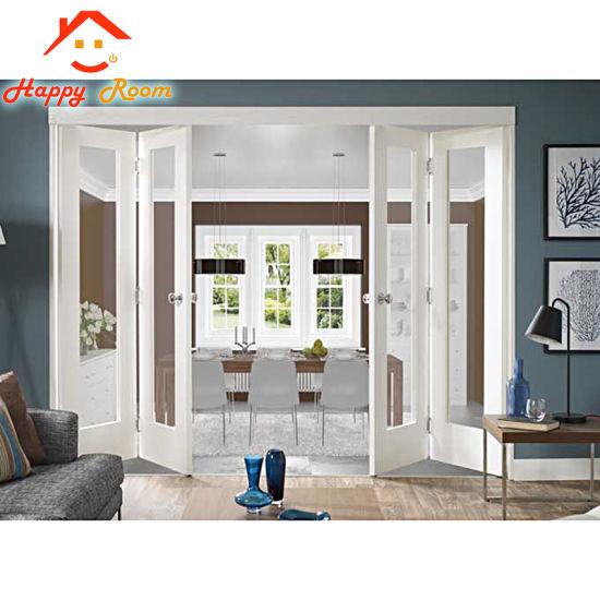 Exterior Commercial Standard Aluminium Gl Accordion Folding Patio Doors