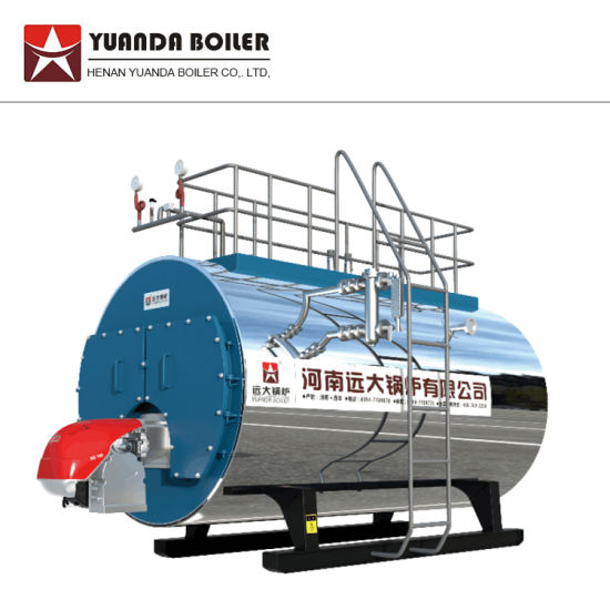 China Wns 0.5-6 Tons Gas Fired Steam Boiler Gas Steam Generator Gas ...