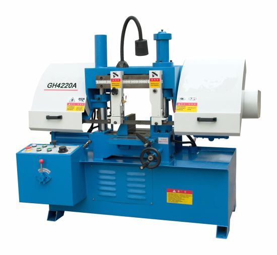 Horizontal Precision Double Column Band Saw Machine Gh4220A with Ce.