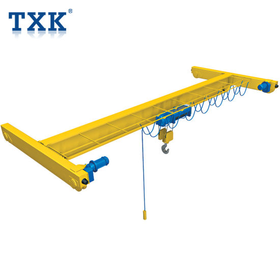 Txk Heavy Duty Electric Moving Double Girder Overhead Crane 15 Ton 20 Ton