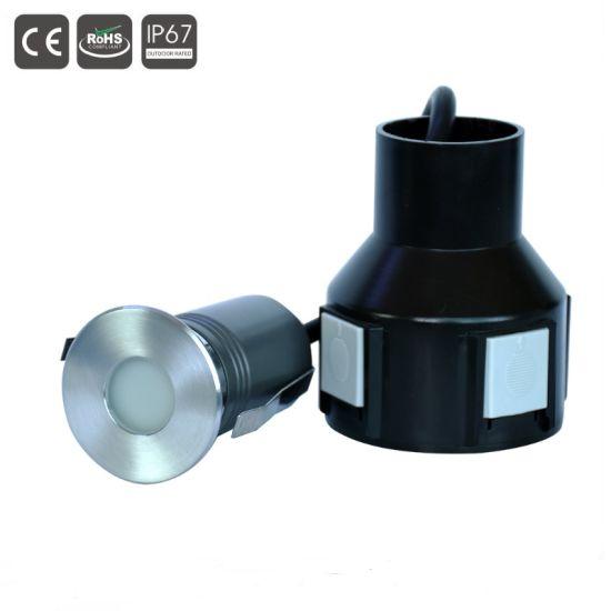 3W Outdoor LED Inground Floor Light Fixture