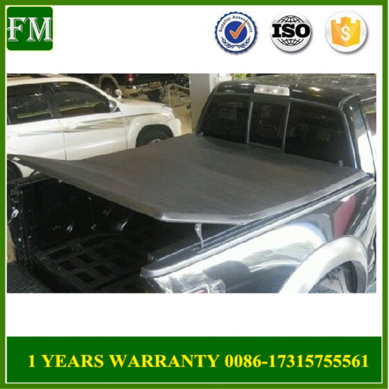 Bed Soft Tri Fold Solid Fold Tonneau Cover Ford Toyota Ram China Cover Tri Fold Cover Made In China Com