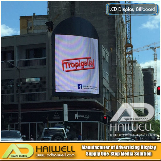 Rooftop Outdoor LED Display/Screen/Video/ Wall/ LED Advertising Billboard pictures & photos
