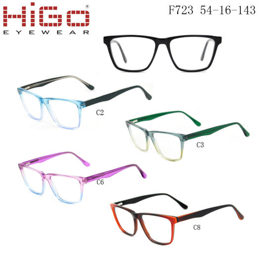 Higo Optical Old Stock Acetate Glasses with Low Price But High Quality