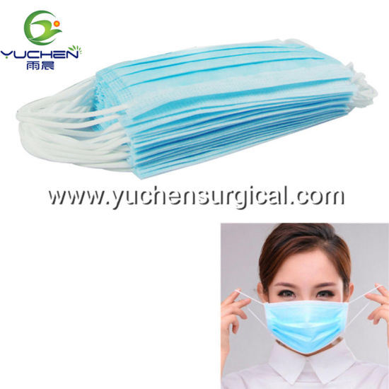 Wholesale Protect Laboratory Disposable Non Woven Face Mask ISO Certificate