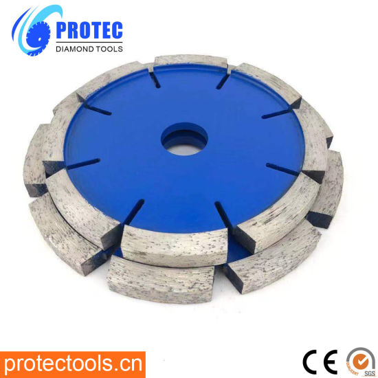 Tuck Point Diamond Saw Blade with 20mm Segment Thickness for Concrete/Grooving Stone/Hard Material/Crack Chaser Blade