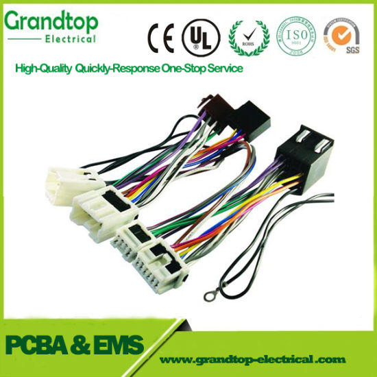 China Tailor Make Wire Harness Cable with Wago Connectors ... on radio harness, oxygen sensor extension harness, suspension harness, pony harness, amp bypass harness, battery harness, electrical harness, maxi-seal harness, obd0 to obd1 conversion harness, cable harness, dog harness, safety harness, alpine stereo harness, engine harness, fall protection harness, nakamichi harness, pet harness,