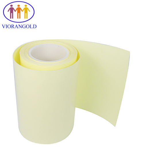 60g/70g/80g/90g/100g/110g/120g White/Yellow PE Coating Release Paper for Stickers