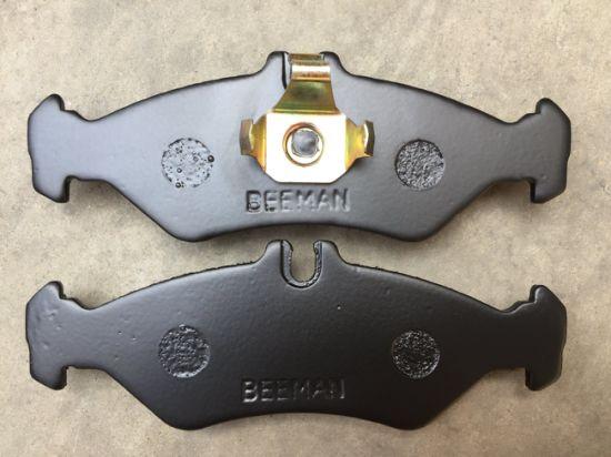 Auto Disc Brake Pads For Mercedes Benz D951