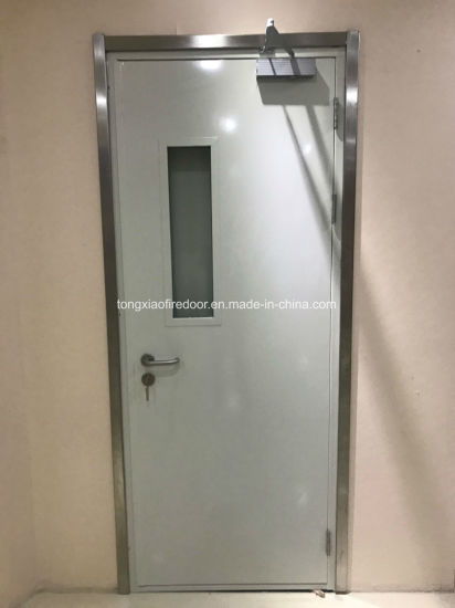 Certified Steel Fire Rated Doors in Accordance with En Norms & China Certified Steel Fire Rated Doors in Accordance with En Norms ...