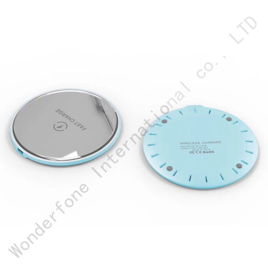 10W Mirror Wireless Fast Charger for S9