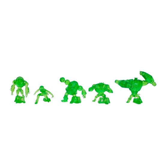 Plastic Green Ben 10 Ultimate Alien Heroes Anime Figure