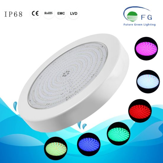 Surface Mounted Fully Resin Filled RGB LED Piscine Pool Light