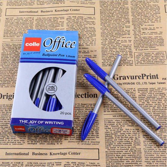 H31 New Fancy Products High Grade Daily Necessities Office Grey Rods Ball Point Pens