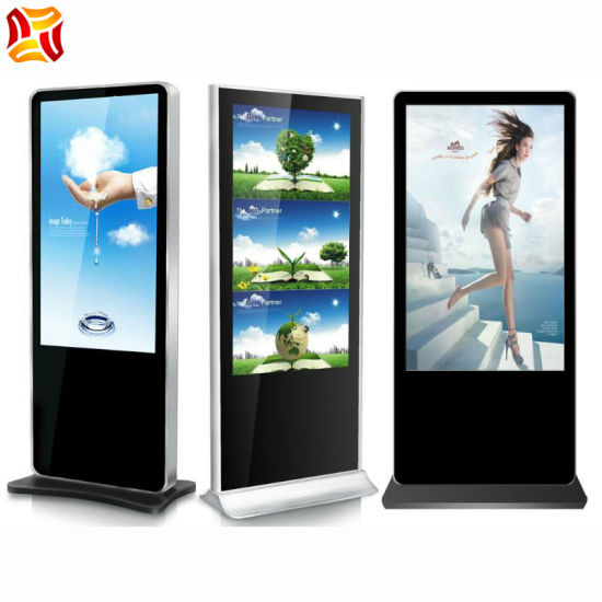 65 Inch Stand Advertising Machine LCD Display LCD Touchscreen Displays Digital Signage Media Player Vertical LCD Panel