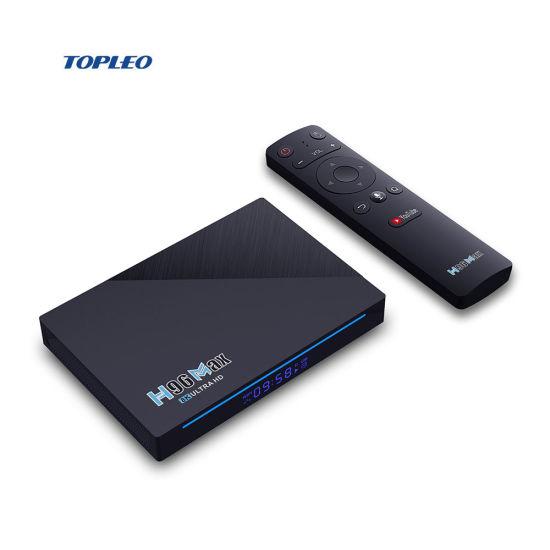 H96 Max Android 11 TV Box Rk3566 Rockchip 4GB/32GB 8GB/64GB Smart Btv Box 2.4G/5g WiFi Bt4.0 Set Top Box